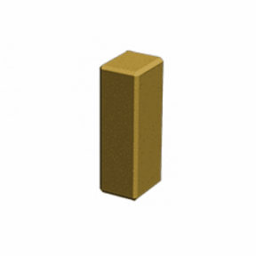 Декоративный столбик 150×100×300