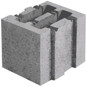 Керамзитобетон 199×250×188