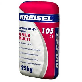 Клей для керамограніту Kreisel 105 Gres Multi 25кг