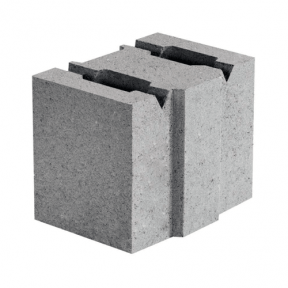 Бетонний блок 130×190×188