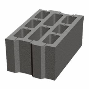 Бетонний блок 250×200×400
