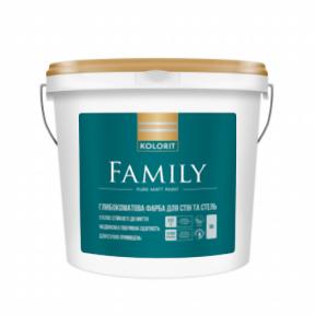 Латексна фарба Колорит Family (Premium 3) 9 л