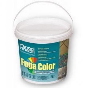 Эластичный водостойкий полимерный цветной шов Fuga Color