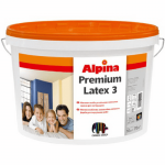 Фарба матова Alpina Premiumlatex 3 Base1 E. L. F B1 10 л